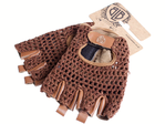 BLB Cycling Gloves brown